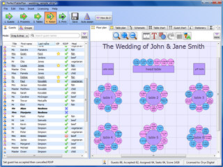 Click to view PerfectTablePlan 4.2.6 screenshot