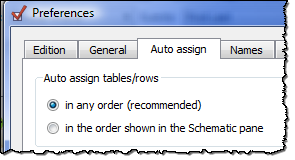 auto assign order