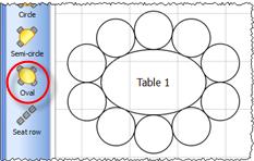 Alfa Img Showing gt Oval Shape Seating Arrangements