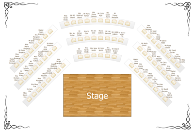 theater seating plan
