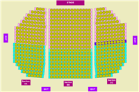 church/theatre seating