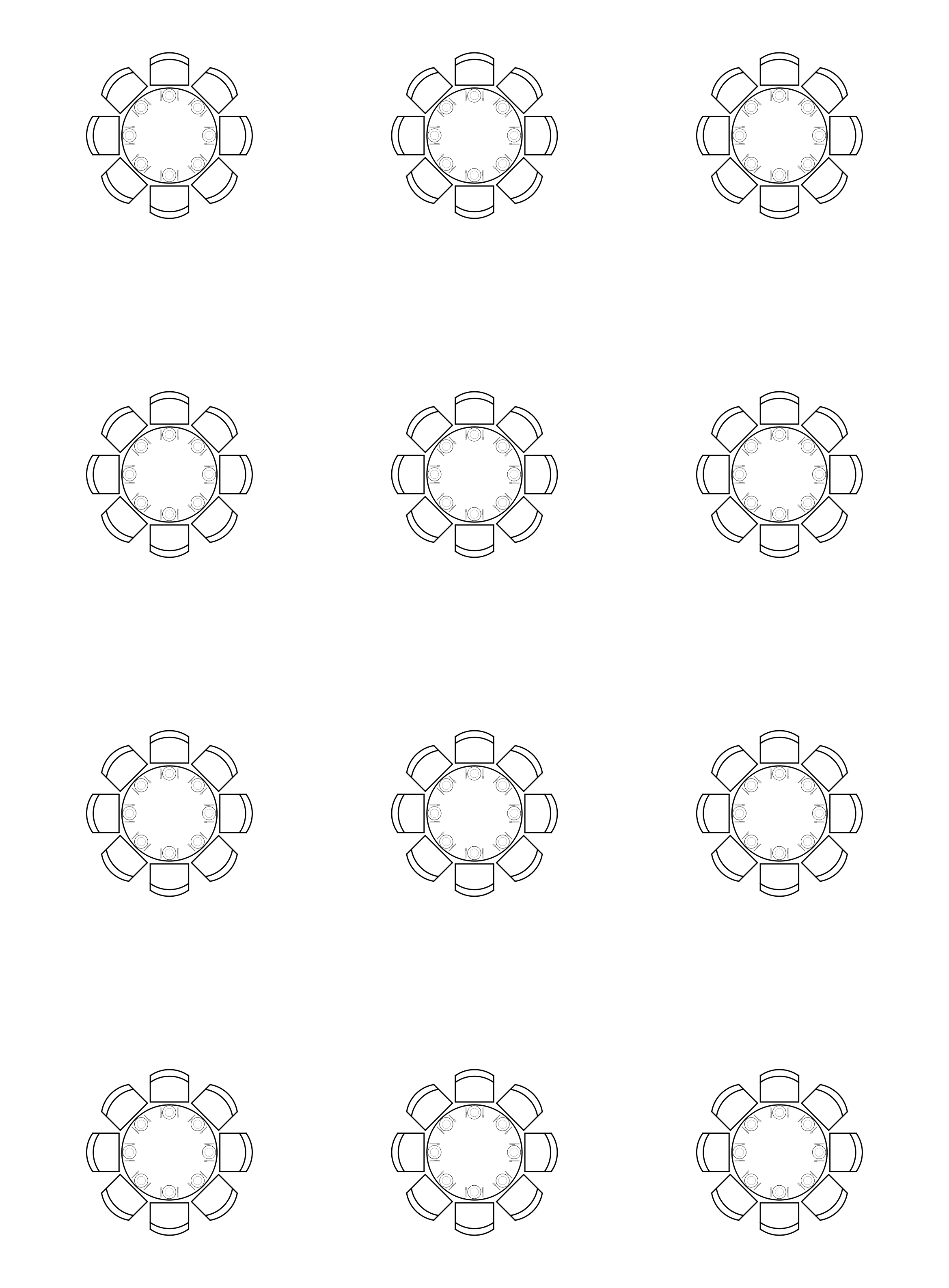 24 Seating Chart Templates DOC PDF